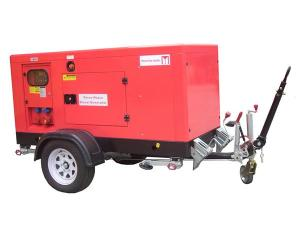 15—500kVA Trailer Mounted Industrial Generator