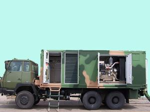 25—1000kVA Vehicle Mounted Diesel Generator